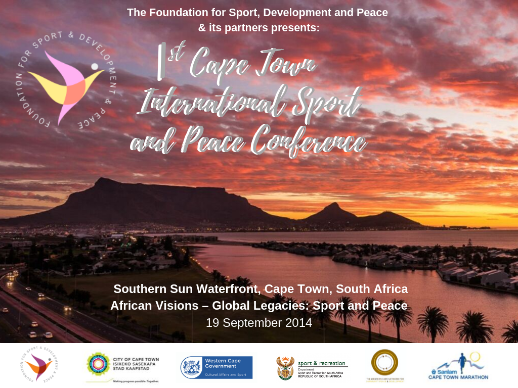 1st Cape Town International Sport and Peace Conference-3