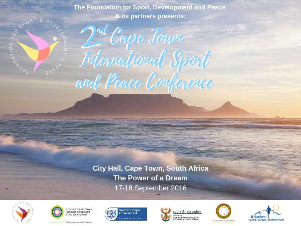 2nd Cape Town International Sport and Peace Conference