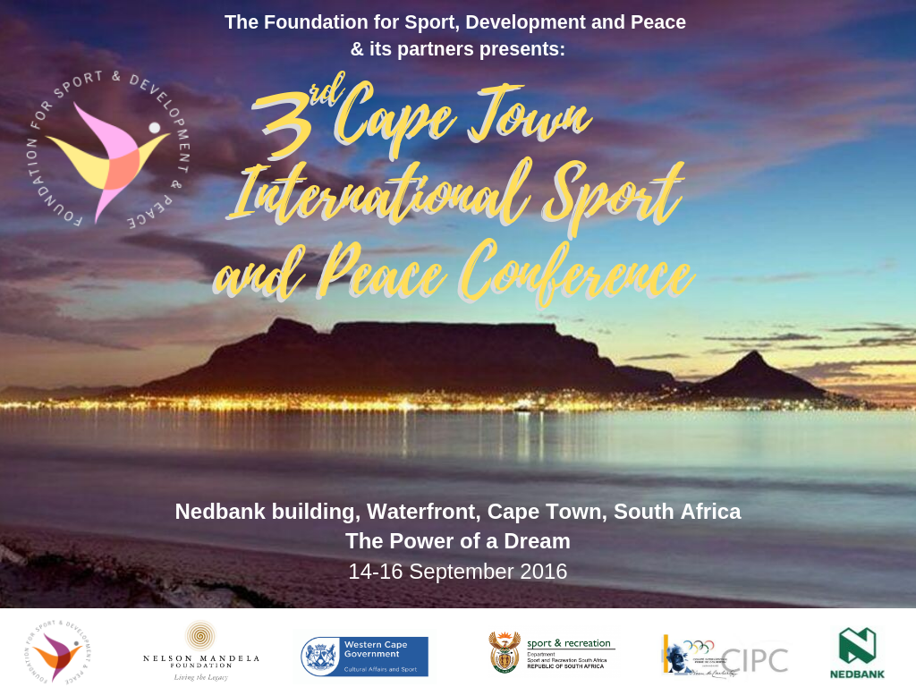 3rd Cape Town International Sport and Peace Conference