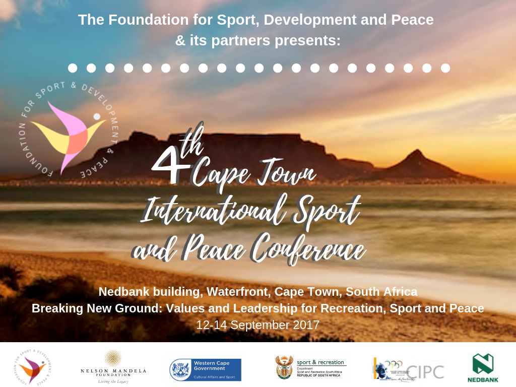 4th Cape Town International Sport and Peace Conference
