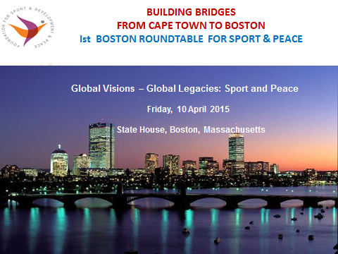 1st Boston Roundtable for Sport and Peace