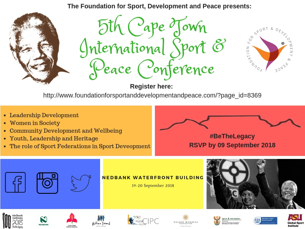 5th Cape Town International Sport & Peace Conference (1)