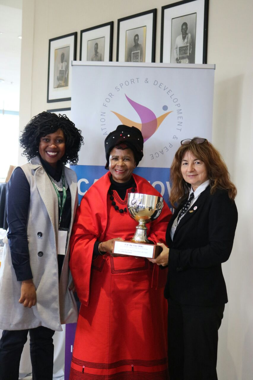 Nelson Mandela Foundation Award